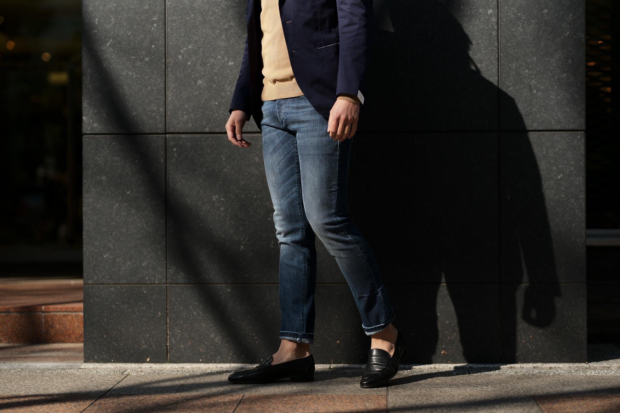 RICHARD J. BROWN (リチャード ジェイ ブラウン) TOKIO (トウキョウ) ストレッチ デニム パンツ BLUE (ブルー・T44 W956) MADE IN ITALY (イタリア製) 2019 春夏新作 richardjbrown altoediritto アルトエデリット 愛知 名古屋 ジーンズ