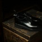 WH (ダブルエイチ) WHS-0010 Plane Toe Shoes (干場氏 スペシャル) Birdie Last (バーディラスト) ANNONAY Vocalou Calf Leather プレーントゥシューズ BLACK (ブラック) MADE IN JAPAN (日本製) 2019 春夏新作 【第1便入荷しました】【第1便フリー分発売開始】のイメージ