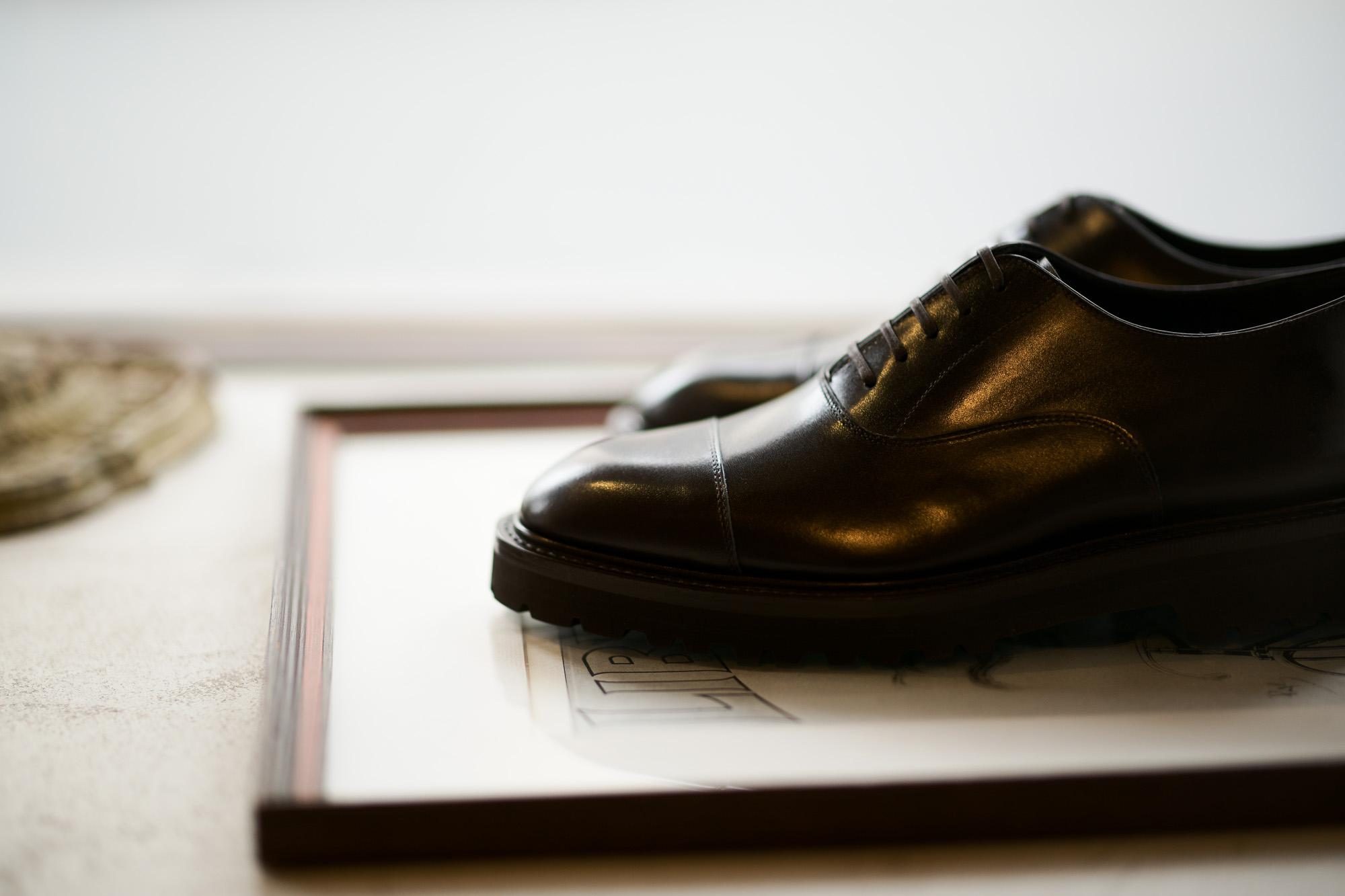 WH (ダブルエイチ) WHS-0110 Straight chip Shoes (干場氏 スペシャル モデル) Trench Last (トレンチラスト) ANNONAY Vocalou Calf Leather ストレートチップ シューズ DARK BROWN (ダークブラウン) MADE IN JAPAN(日本製) 2019 春夏新作 【2019春夏フリー分発売中】干場さん 干場スペシャル FORZASTYLE フォルザスタイル 愛知 名古屋 Alto e Diritto アルト エ デリット