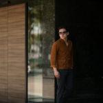 Alfredo Rifugio (アルフレード リフージオ) SS326 CAMOSCIO Summer Suede Leather Shirts サマースウェード レザーシャツ CAMEL (キャメル) made in italy (イタリア製) 2019 春夏新作のイメージ
