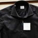AVINO(アヴィーノ) Poplin Dress Shirts コットン ブロード ポプリン ドレスシャツ NAVY(ネイビー) made in italy (イタリア製) 2019 秋冬 【ご予約受付中】のイメージ