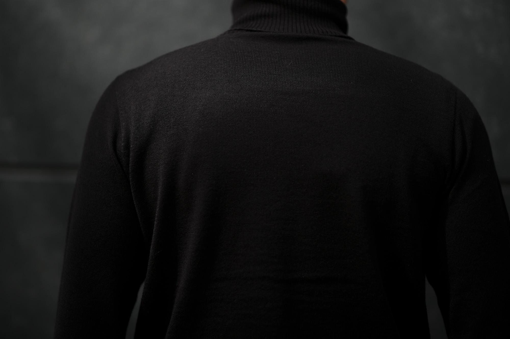 Cuervo (クエルボ) Sartoria Collection (サルトリア コレクション) John(ジョン) Turtle Neck Sweater (タートルネックセーター) ウールニット セーター NAVY (ネイビー) MADE IN JAPAN (日本製) 2019 秋冬 【ご予約受付開始】愛知 名古屋 altoediritto アルトエデリット