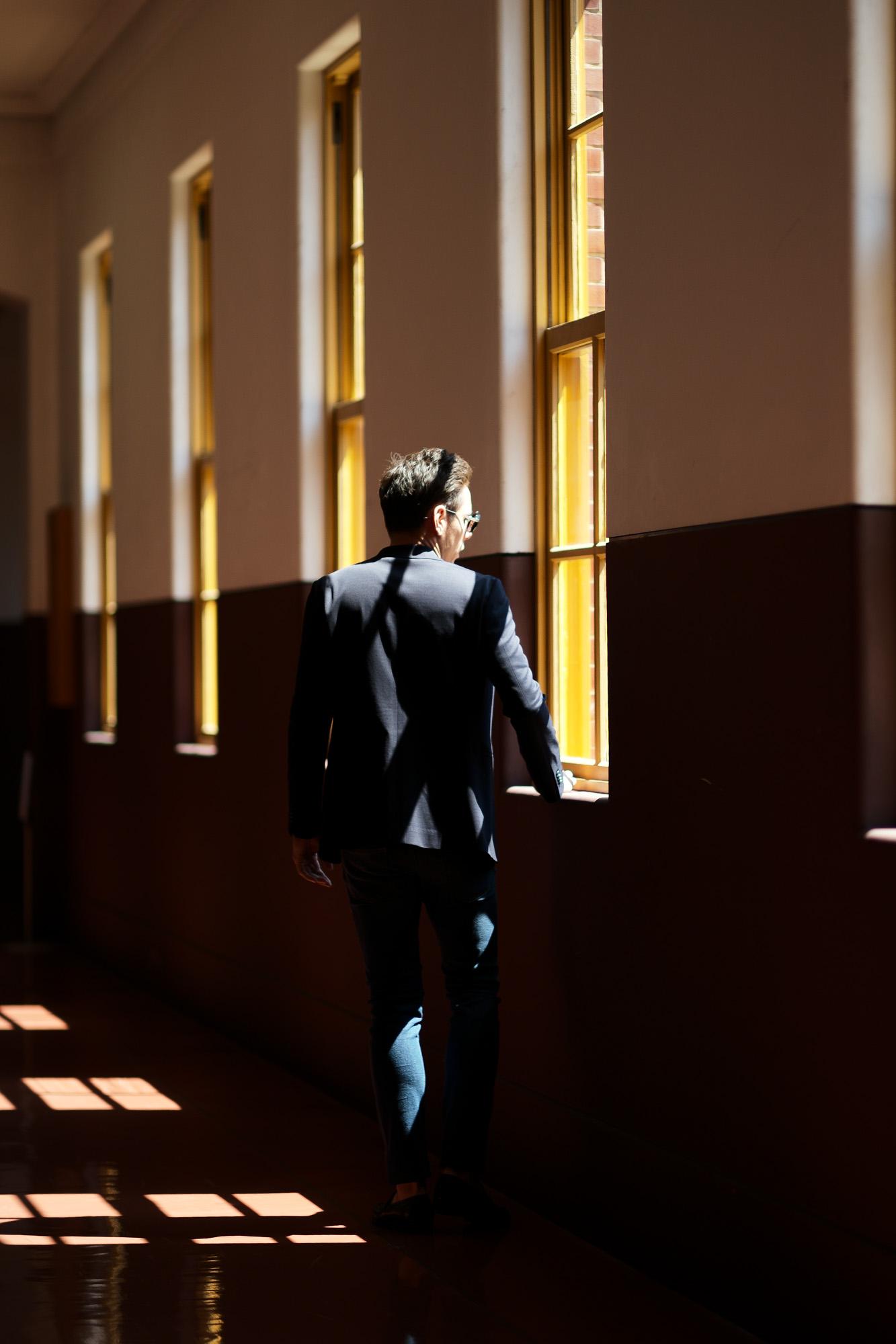 Cuervo (クエルボ) Sartoria Collection (サルトリア コレクション) Lobb (ロブ) Summer Jersey Jacket サマージャージー  3B ジャケット NAVY (ネイビー) MADE IN JAPAN (日本製) 2019 春夏新作 愛知 名古屋 alto e diritto アルトエデリット