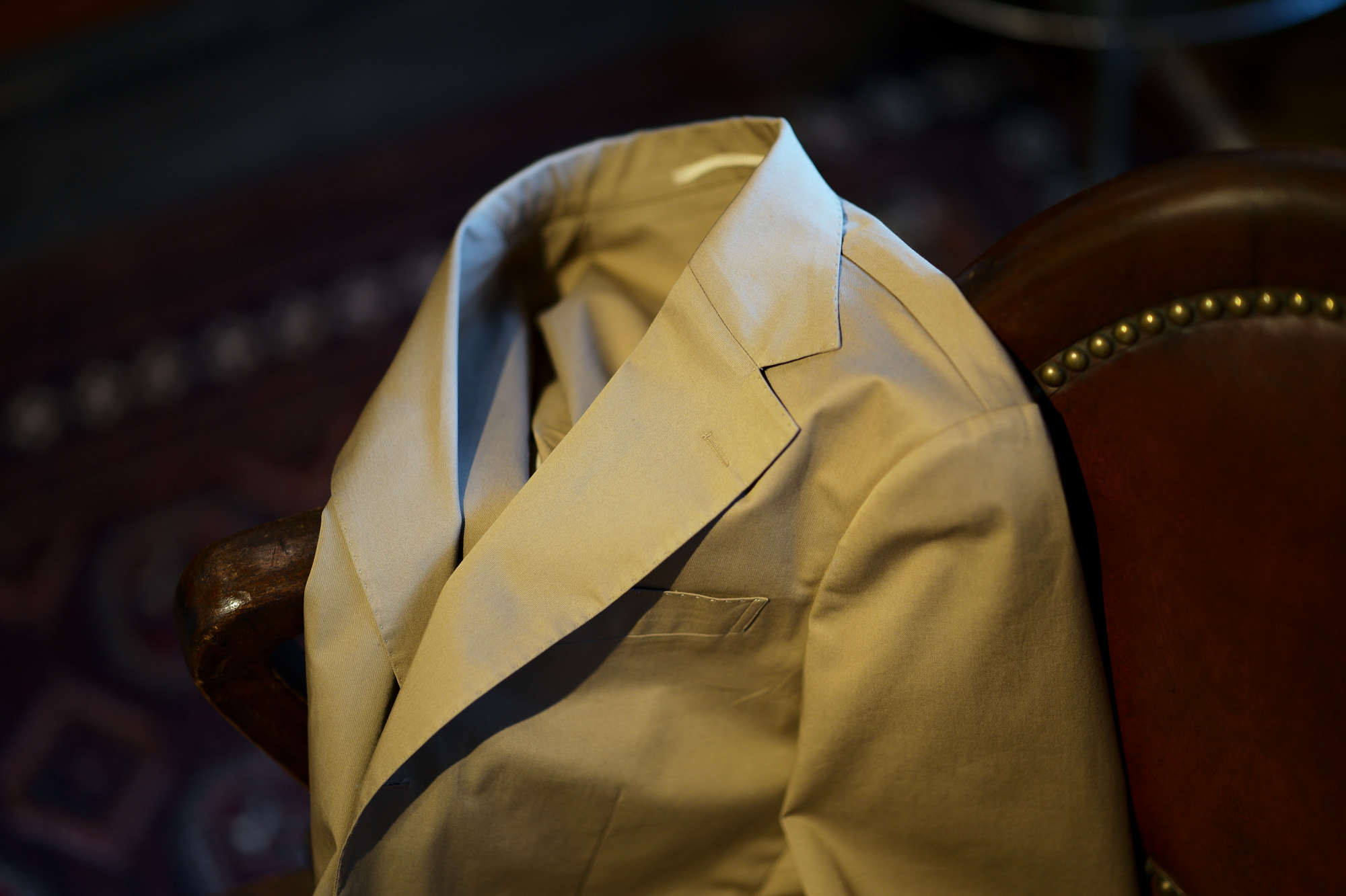 Cuervo (クエルボ) Sartoria Collection (サルトリア コレクション) Rooster (ルースター) ストレッチコットン スーツ BEIGE (ベージュ) MADE IN JAPAN (日本製) 2019 春夏 愛知 名古屋 alto e diritto アルトエデリット