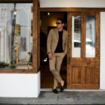 Cuervo (クエルボ) Sartoria Collection (サルトリア コレクション) Rooster (ルースター) ストレッチコットン スーツ BEIGE (ベージュ) MADE IN JAPAN (日本製) 2019 春夏新作 【ご予約受付開始します】のイメージ