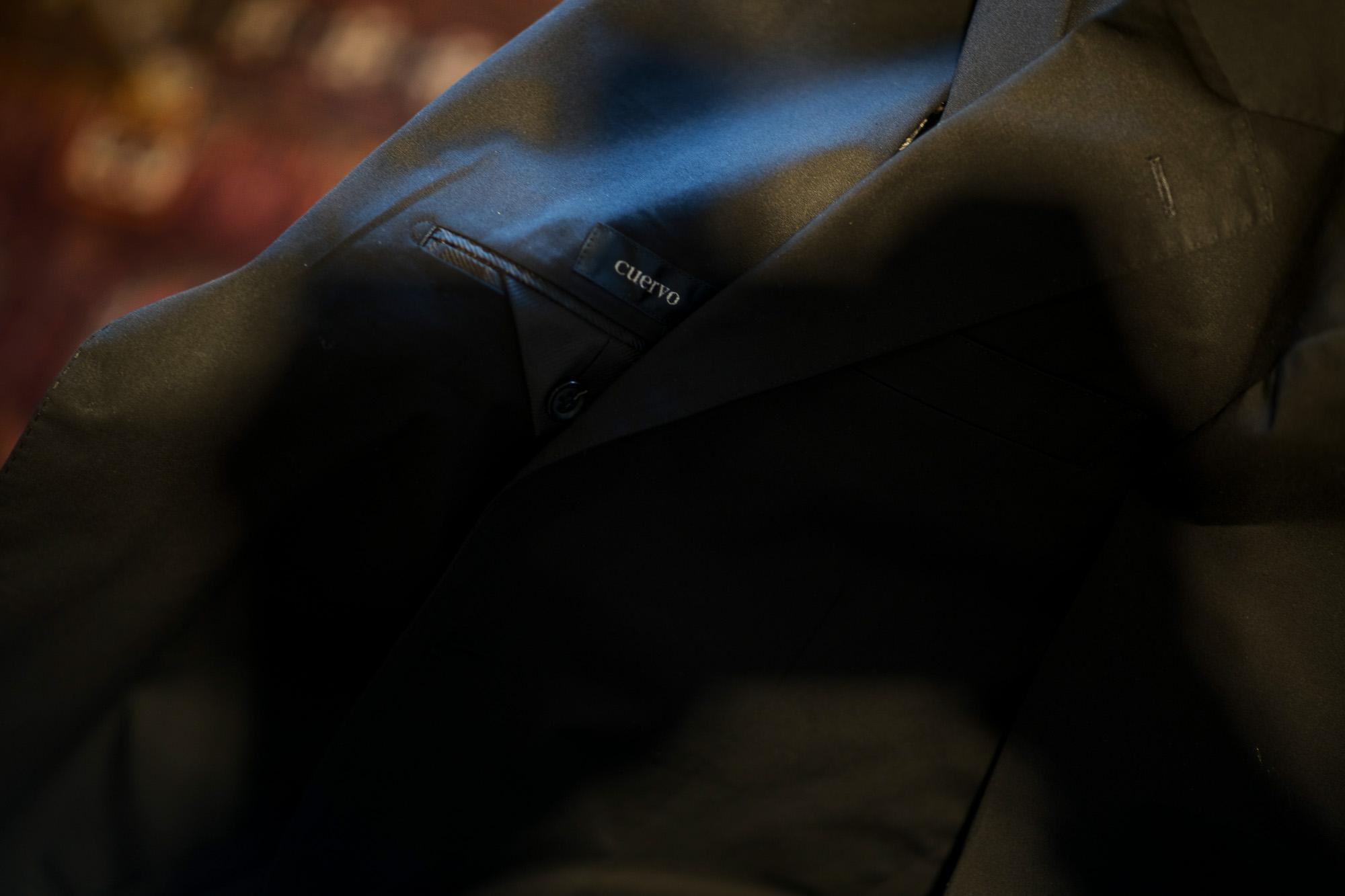 Cuervo (クエルボ) Sartoria Collection (サルトリア コレクション) Rooster (ルースター) ストレッチコットン スーツ BLACK (ブラック) MADE IN JAPAN (日本製) 2019 春夏  愛知 名古屋 alto e diritto アルトエデリット