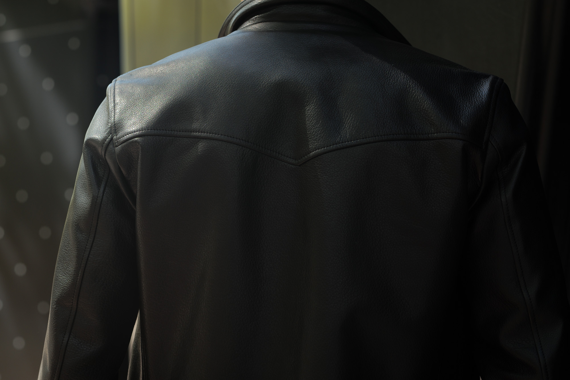 Cuervo (クエルボ) Satisfaction Leather Collection (サティスファクション レザー コレクション) TOM (トム) BUFFALO LEATHER (バッファロー レザー) シングル ライダース ジャケット BLACK (ブラック) MADE IN JAPAN (日本製) 2019 春夏 【第2便ご予約受付中】クエルボ レザージャケット 愛知 名古屋 alto e diritto アルトエデリット セレクトショップ