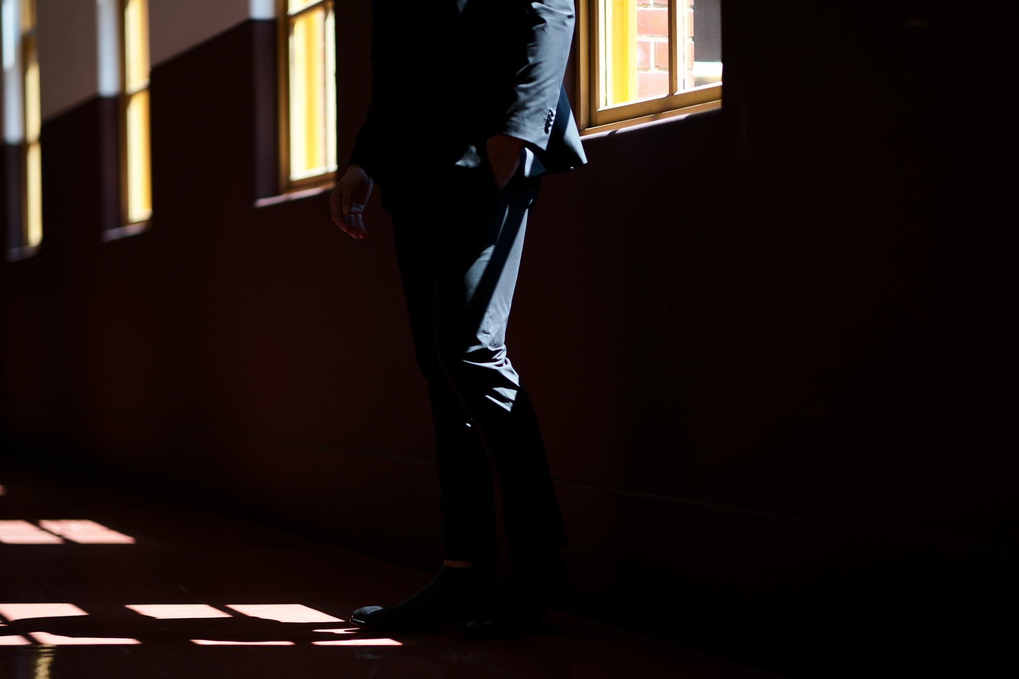 Cuervo (クエルボ) Sartoria Collection (サルトリア コレクション) Rooster (ルースター) STRETCH NYLON ストレッチナイロン スーツ BLACK(ブラック) MADE IN JAPAN (日本製) 2019 春夏 愛知 名古屋 alto e diritto altoediritto アルトエデリット