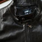 EMMETI(エンメティ) JURI(ユリ) Lambskin nappa Leather シングルライダース レザージャケット NERO (ブラック) made in italy (イタリア製) 2019 秋冬【第1便ご予約開始します】愛知 alto e diritto アルトエデリット altoediritto 干場さん 干場着 ユーリ