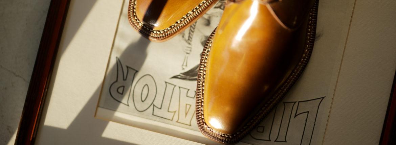 ENZO BONAFE(エンツォボナフェ) ART.3722 Chukka boots Horween Shell Cordovan Leather ホーウィン社 シェルコードバンレザー ノルベジェーゼ製法 チャッカブーツ コードバンブーツ BURBON(バーボン)  made in italy (イタリア製) 2019 春夏新作のイメージ