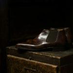 ENZO BONAFE (エンツォボナフェ) CARY GRANT III(ゲーリーグラント3) Side gore Boots MUSEUM CALF(ミュージアムカーフ) サイドゴアブーツ DARK BROWN(ダークブラウン) made in italy (イタリア製) 愛知 名古屋 altoediritto アルトエデリット