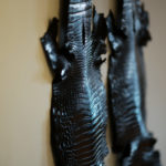Georges de Patricia(ジョルジュ ド パトリシア) Diablo Crocodile (ディアブロ クロコダイル) 925 STERLING SILVER (925 スターリングシルバー) Crocodile クロコダイル エキゾチックレザー サイドゴアブーツ NOIR (ブラック) 2019 春夏新作 【Special Boots】【第2便ご予約受付中】のイメージ