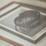 J&M DAVIDSON (ジェイアンドエムデヴィッドソン) ENVELOPE BUCKLE PLATED BELT 25MM NICKEL (エンベロープ バックル プレーテッド ベルト 25 MM) CALF LEATHER (カーフレザー) メッシュベルト BLACK (ブラック・999) Made in italy (イタリア製) 2019 春夏新作のイメージ
