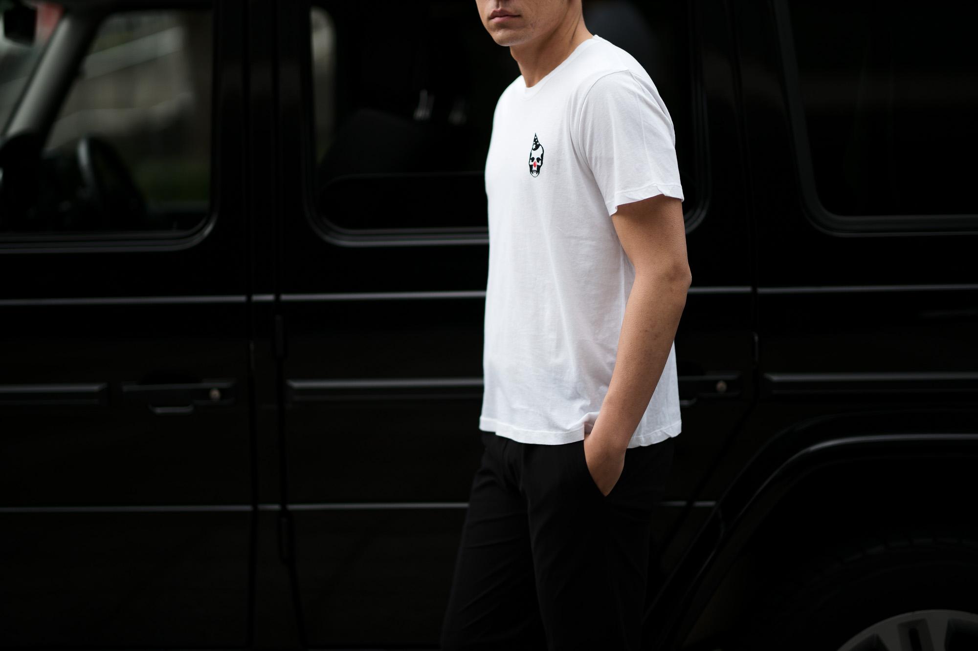 lucien pellat-finet (ルシアン ペラフィネ) 2 Pack Skull Print T-Shirt スカルプリント 2パック Tシャツ BLACK / WHITE (ブラック / ホワイト) (2枚セット) 2019 春夏新作 lucienpellatfinet 愛知 名古屋 altoediritto アルトエデリット