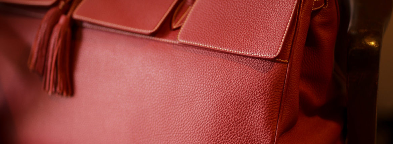 ACATE(アカーテ)OSTRO(オストロ) Montblanc leather(モンブランレザー) トートバック レザーバック ROSSO(ロッソ) MADE IN ITALY(イタリア製) 2019 秋冬新作のイメージ