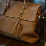 ACATE(アカーテ)OSTRO-M(オストロ-M) Montblanc leather(モンブランレザー) トートバック レザーバック CUOIO(クオイオ) MADE IN ITALY(イタリア製) 2019 秋冬新作のイメージ