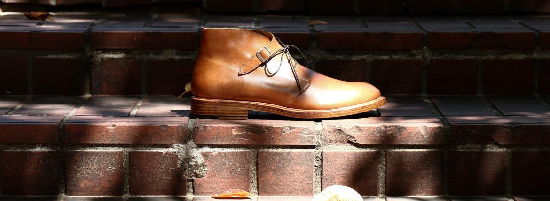Cuervo (クエルボ)  Derringer (デリンジャー) Japan Museum Calf Leather(ジャパン ミュージアムカーフレザー) Chukka Boots チャッカブーツ レザーブーツ NEW GOLD(ニューゴールド) MADE IN JAPAN(日本製) 2019 秋冬 【Special Model】のイメージ