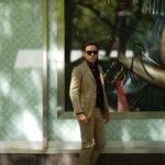 Cuervo (クエルボ) Sartoria Collection (サルトリア コレクション) Rooster (ルースター) ストレッチコットン スーツ BEIGE (ベージュ) MADE IN JAPAN (日本製) 2019 春夏新作 【ご予約受付中】のイメージ