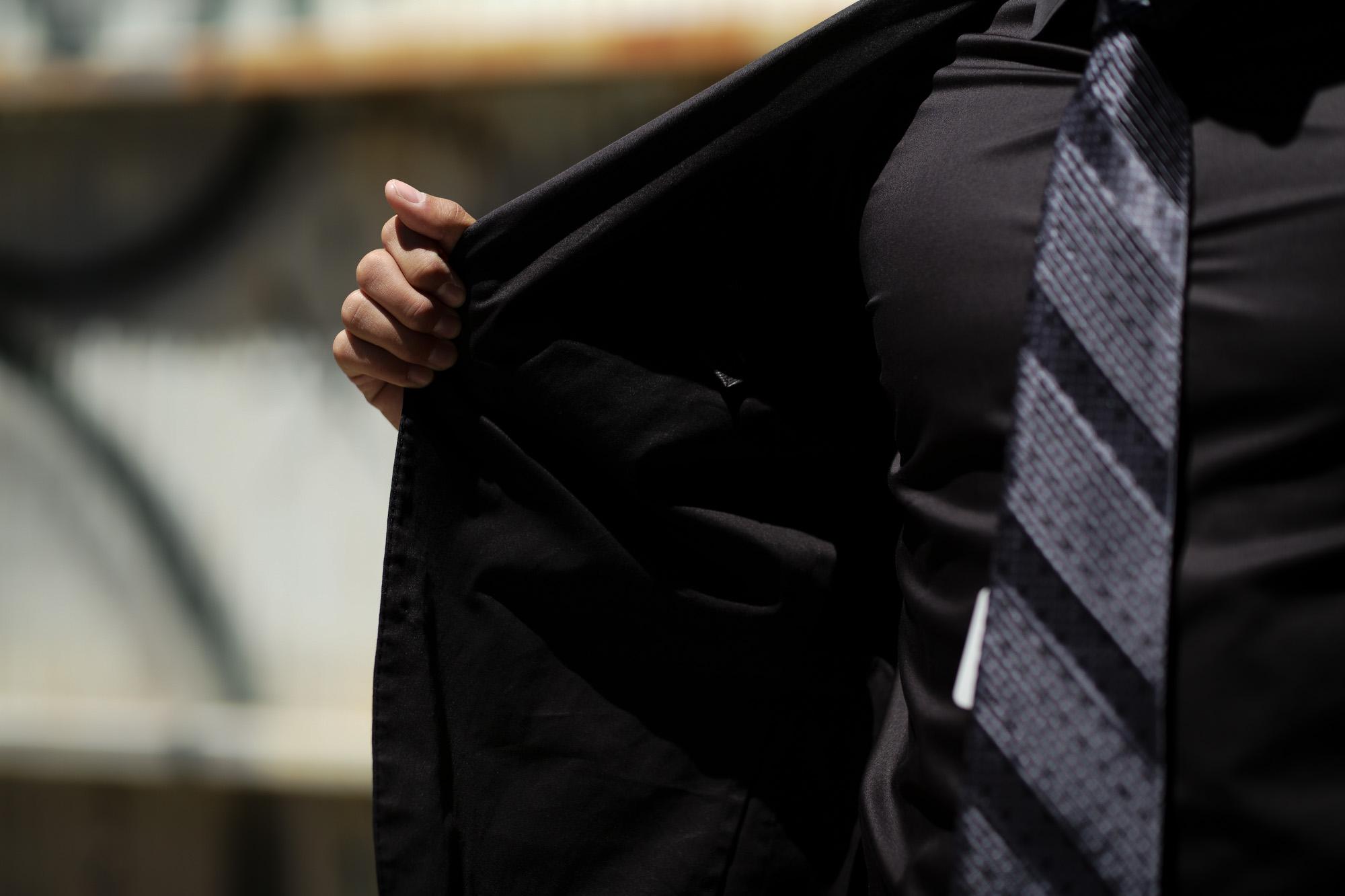 Cuervo (クエルボ) Sartoria Collection (サルトリア コレクション) Rooster (ルースター) ストレッチコットン スーツ BLACK (ブラック) MADE IN JAPAN (日本製) 2019 春夏新作 【ご予約受付中】愛知 名古屋 alto e diritto アルトエデリット