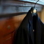 De Petrillo (デ ペトリロ) NAPOLI Posillipo (ナポリ ポジリポ) カシミア モールスキン 段返り3B ジャケット NAVY (ネイビー・359) Made in italy (イタリア製) 2019 秋冬 【ご予約受付中】のイメージ