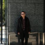 EMMETI (エンメティ) NAT (ナット) Merino Mouton (メリノ ムートン) シングル ムートンコート NERO (ブラック) Made in italy (イタリア製) 2019 秋冬 【ご予約受付中】のイメージ