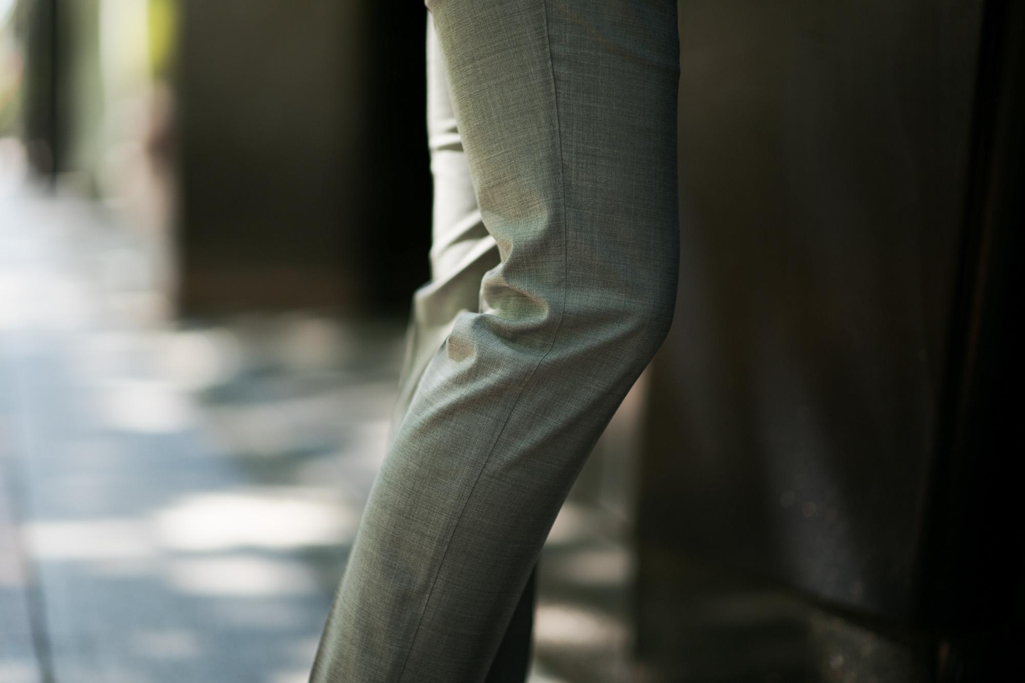 PT01 (ピーティーゼロウーノ) TRAVEL & RELAX SUPER SLIM FIT (スーパースリムフィット) ストレッチ ウォッシャブル トロピカル サマーウール スラックス CHACOAL GRAY (チャコールグレー・0240) 2019 春夏新作 愛知 名古屋 altoediritto アルトエデリット 黒スラックス グレースラックス