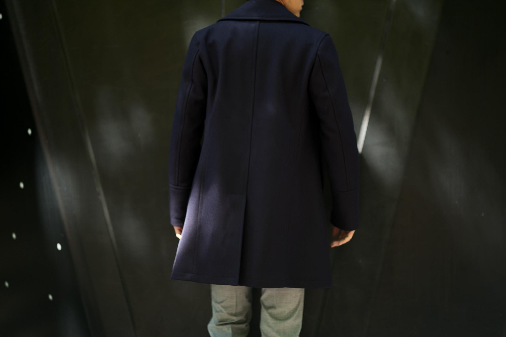 Sealup(シーラップ) GENOVA(ジェノバ) 50002 7591 01 メルトンウール サーモアライニング ロングPコート  NAVY (ネイビー・01) MADE IN ITALY(イタリア製) 2019 秋冬 【ご予約受付中】 シーラップ 愛知 名古屋 Alto e Diritto アルト エ デリット Pコート コート coat