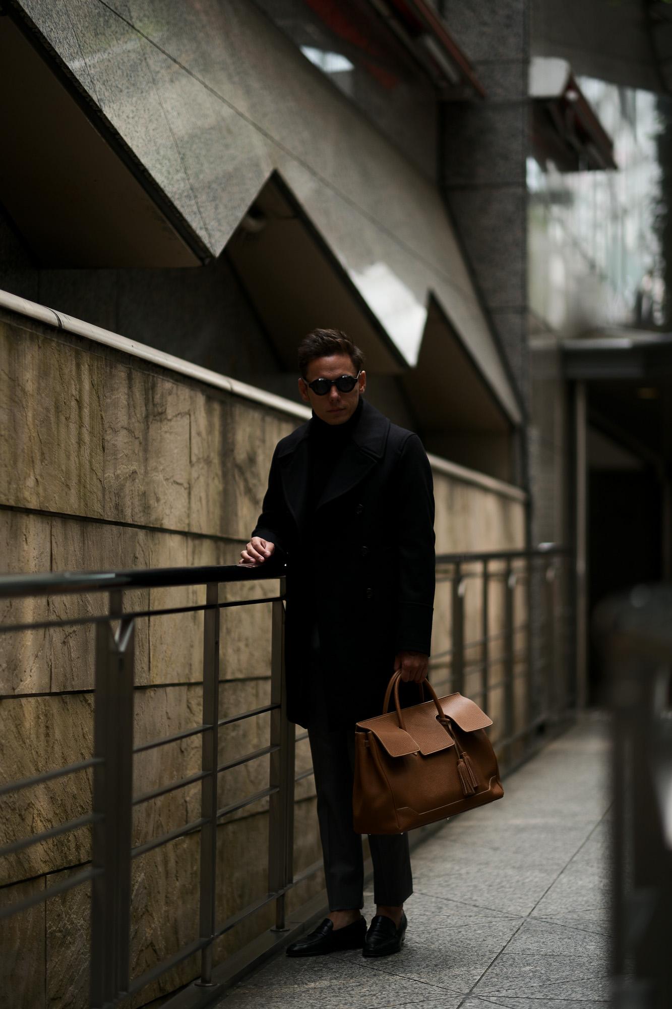 ACATE(アカーテ)OSTRO-M(オストロ-M) Montblanc leather(モンブランレザー) トートバック レザーバック CUOIO(クオイオ) MADE IN ITALY(イタリア製) 2019 秋冬新作 愛知 名古屋 altoediritto アルトエデリット トートバック