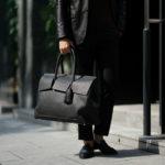 ACATE(アカーテ)OSTRO(オストロ) Montblanc leather(モンブランレザー) トートバック レザーバック NERO(ネロ) MADE IN ITALY(イタリア製) 2019 秋冬新作のイメージ