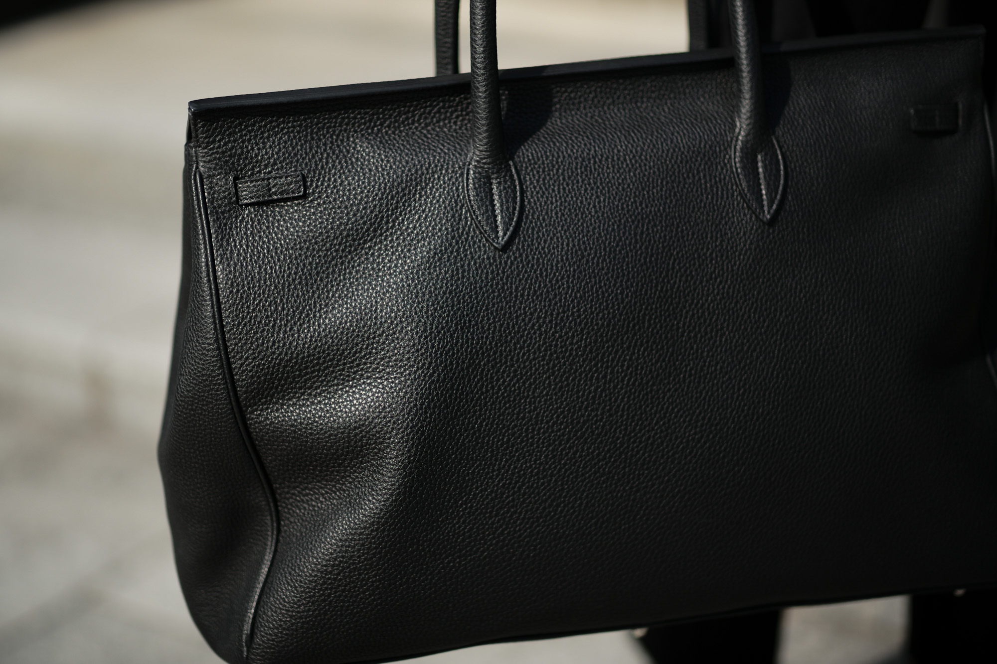 ACATE(アカーテ)OSTRO(オストロ) Montblanc leather(モンブランレザー) トートバック レザーバック NERO(ネロ) MADE IN ITALY(イタリア製) 2019 秋冬新作 愛知 名古屋 altoediritto アルトエデリット