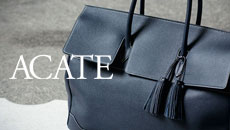 ACATE(アカーテ)OSTRO-M(オストロ-M) Montblanc leather(モンブランレザー) トートバック レザーバック NOTE(ノッテ) MADE IN ITALY(イタリア製) 2019 秋冬新作 愛知 名古屋 altoediritto アルトエデリット トートバック