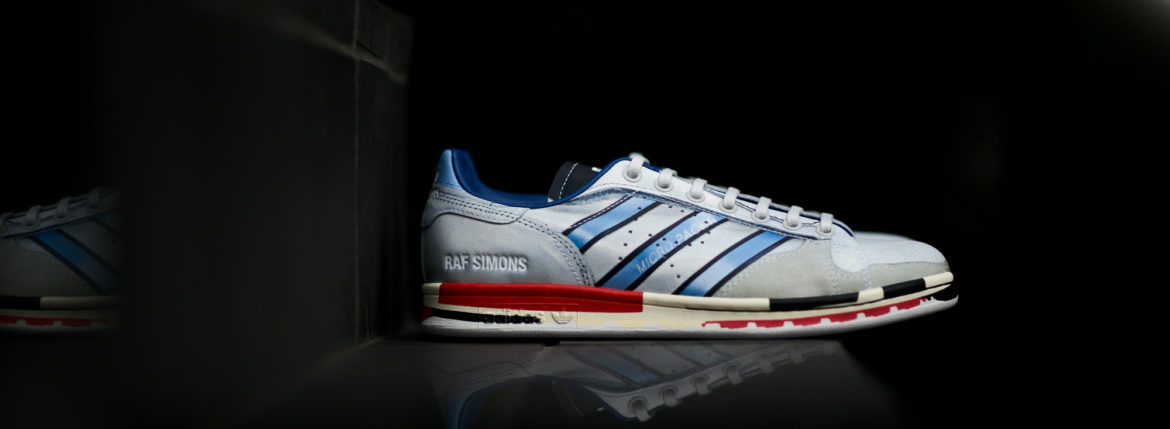 adidas by RAF SIMONS (アディダス バイ ラフシモンズ) RS MICRO STAN (RS マイクロ スタン) EE7950 スニーカー SILVMT/RED/RED (シルバー×レッド) 2019のイメージ
