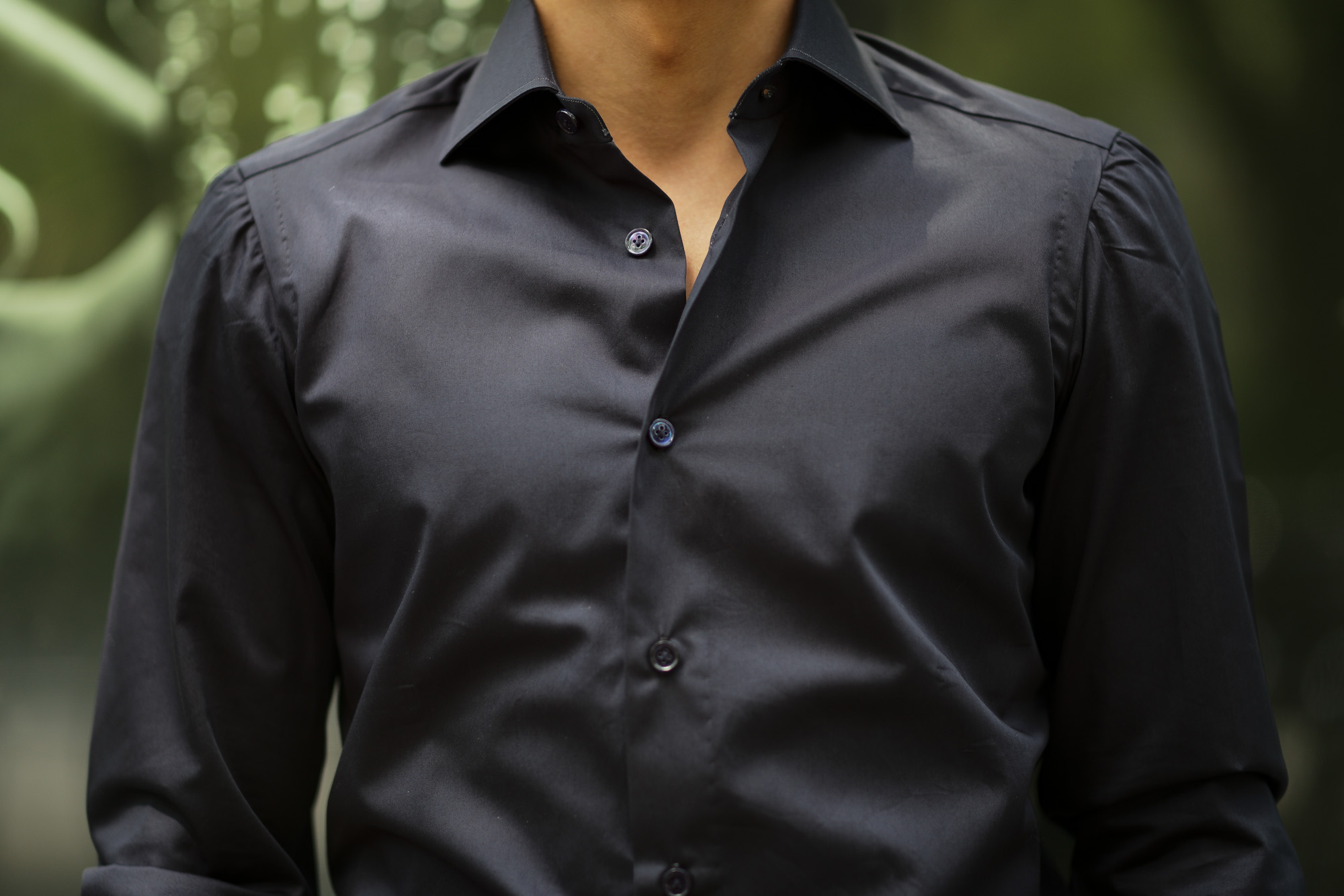 AVINO(アヴィーノ) Poplin Dress Shirts コットン ブロード ポプリン ドレスシャツ NAVY(ネイビー) made in italy (イタリア製) 2019 秋冬 【ご予約受付中】 愛知 名古屋 altoediritto アルトエデリット