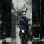 Cuervo (クエルボ) Sartoria Collection (サルトリア コレクション) Pier(ピエル) STRETCH COTTON ストレッチコットン シャツ NAVY(ネイビー) MADE IN ITALY (イタリア製) 2019 春夏 【ネイビーフリー分発売中】のイメージ