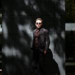 Cuervo (クエルボ) Sartoria Collection (サルトリア コレクション) Rooster (ルースター) STRETCH NYLON ストレッチナイロン スーツ BLACK(ブラック) MADE IN JAPAN (日本製) 2019 春夏 【ご予約受付中】のイメージ