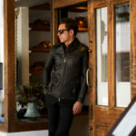 Cuervo (クエルボ) Satisfaction Leather Collection (サティスファクション レザー コレクション) East West(イーストウエスト)  SMOKE(スモーク) BUFFALO LEATHER (バッファロー レザー) レザージャケット BROWN(ブラウン) MADE IN JAPAN (日本製) 2019 秋冬新作のイメージ
