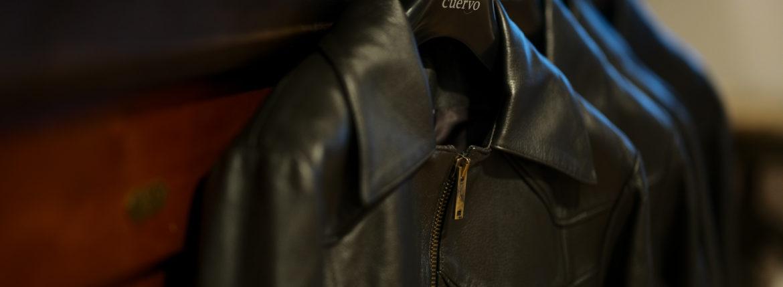 Cuervo (クエルボ) Satisfaction Leather Collection (サティスファクション レザー コレクション) East West(イーストウエスト) SMOKE(スモーク) BUFFALO LEATHER (バッファロー レザー) レザージャケット BROWN(ブラウン) MADE IN JAPAN (日本製) 2019 秋冬 【ご予約受付中】愛知 名古屋 altoediritto アルトエデリット 洋服屋 レザージャケット サウスパラディソ eastwes