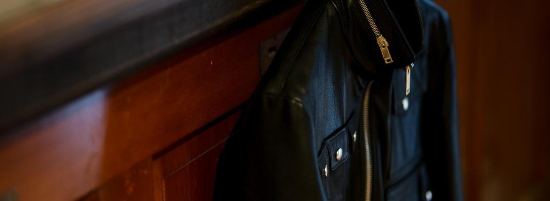 Cuervo (クエルボ) Satisfaction Leather Collection (サティスファクション レザー コレクション) HUNK(ハンク) BUFFALO LEATHER (バッファロー レザー) レザージャケット BLACK(ブラック) MADE IN JAPAN (日本製) 2019 秋冬 愛知 名古屋 altoediritto アルトエデリット バイオハザード ハンク バイオ BIOHAZARD