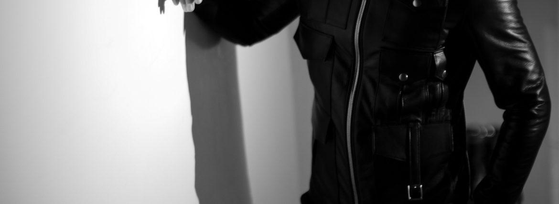 Cuervo (クエルボ) Satisfaction Leather Collection (サティスファクション レザー コレクション) HUNK(ハンク) BUFFALO LEATHER (バッファロー レザー) レザージャケット BLACK(ブラック) MADE IN JAPAN (日本製) 2019 秋冬 【ご予約受付開始】 愛知 名古屋 altoediritto アルトエデリット バイオハザード ハンク バイオ BIOHAZARD