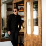 cuervo bopoha(クエルボ ヴァローナ) Satisfaction Leather Collection (サティスファクション レザー コレクション) Noel (ノエル) HORSE NUBUCK ホースヌバック レザーシャツ BLACK (ブラック) MADE IN JAPAN (日本製) 2019 秋冬のイメージ