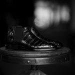 Georges de Patricia(ジョルジュ ド パトリシア) Diablo Crocodile (ディアブロ クロコダイル) 925 STERLING SILVER (925 スターリングシルバー) Crocodile クロコダイル エキゾチックレザー サイドゴアブーツ NOIR (ブラック) 【Special Boots】【第2便ご予約受付中】のイメージ