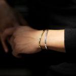 Georges de Patricia(ジョルジュ ド パトリシア) Ghost (ゴースト) 18K GOLD(18K ゴールド) 925 STERLING SILVER (925 スターリングシルバー) WHITE DIAMOND(ホワイトダイヤモンド) ダブル バングル 2019 秋冬 愛知 名古屋 altoediritto アルトエデリット georgesdepatricia roollsroyce ロールスロイス jewelry ジュエリ