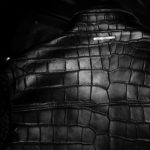 Georges de Patricia (ジョルジュ ド パトリシア) Huracan Porosus Crocodile(ウラカン ポロサス クロコダイル) 925 STERLING SILVER (925 スターリングシルバー) Porosus Crocodile ポロサス クロコダイル エキゾチックレザー ダブルライダース ジャケット NOIR (ブラック) 2019 秋冬 【Speicial Model】 愛知 名古屋 alto e diritto アルトエデリット