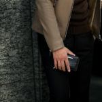 Georges de Patricia(ジョルジュ ド パトリシア) Phantom Crocodile (ファントム クロコダイル) 925 STERLING SILVER (925 スターリングシルバー) Crocodile クロコダイル エキゾチックレザー ショート ウォレット NOIR (ブラック) 2019 春夏 【ご予約受付中】のイメージ