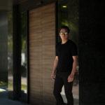 Gran Sasso (グランサッソ) Silk Knit T-shirt (シルクニット Tシャツ) SETA (シルク 100%) ショートスリーブ シルク ニット Tシャツ BLACK (ブラック・099) made in italy (イタリア製) 2019 春夏新作のイメージ