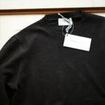 Settefili Cashmere (セッテフィーリ カシミア) Silk Cashmere Crew Neck Sweater ハイゲージ シルクカシミア ニット セーター BLACK (ブラック・CS22) made in italy (イタリア製) 2019 秋冬新作のイメージ