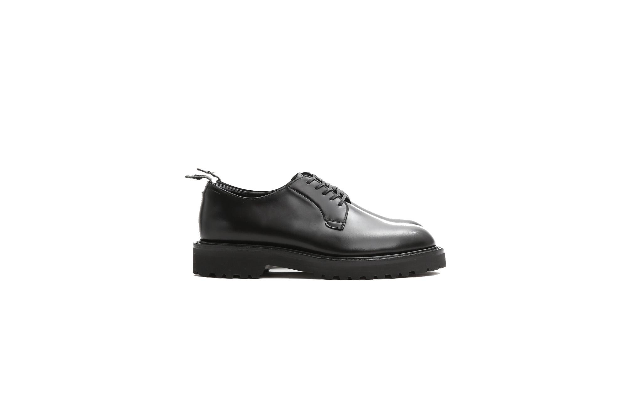 WH (ダブルエイチ) WHS-0010 Plane Toe Shoes (干場氏 スペシャル) Birdie Last (バーディラスト) ANNONAY Vocalou Calf Leather プレーントゥシューズ BLACK (ブラック) MADE IN JAPAN (日本製) 2019 秋冬【9月中旬入荷分】【ご予約受付開始】愛知 名古屋 alto e diritto altoediritto アルトエデリット