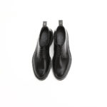 WH (ダブルエイチ) WHS-0010 Plane Toe Shoes (干場氏 スペシャル) Birdie Last (バーディラスト) ANNONAY Vocalou Calf Leather プレーントゥシューズ BLACK (ブラック) MADE IN JAPAN (日本製) 2019春夏 【7月下旬入荷分/ご予約受付中】 愛知 名古屋 alto e diritto altoediritto アルトエデリット