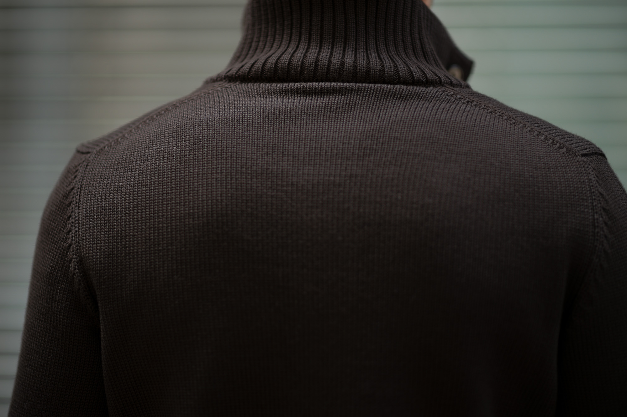 ZANONE (ザノーネ) CHIOTO KYOTO (キョウト キョート) 812218 z0229 (ミドルゲージ ニット ジャケット) BROWN (ブラウン・Z5204) MADE IN ITALY(イタリア製) 2019 秋冬 【ご予約受付中】zanone 愛知 名古屋 Alto e Diritto アルト エ デリット alto e diritto アルトエデリット ニット