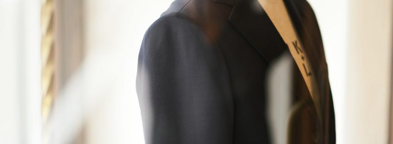 Cuervo (クエルボ) Sartoria Collection (サルトリア コレクション) Lobb (ロブ) Summer Jersey Jacket サマージャージー 3B ジャケット NAVY (ネイビー) MADE IN JAPAN (日本製) 2019 春夏新作 【ご予約受付中】愛知 名古屋 alto e diritto アルトエデリット
